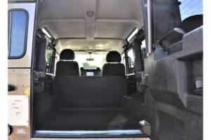 Tweedehands Land Rover Defender achterdeur BARN282 Land Rover & Jaguar specialist Kalmthout