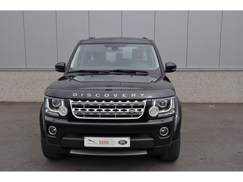 Tweedehands Land Rover Discovery 4 voorkant BARN282 Land Rover & Jaguar specialist Kalmthout